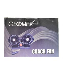 Geomex Coach Double Fan 4 Inch 12V With Speed Controller