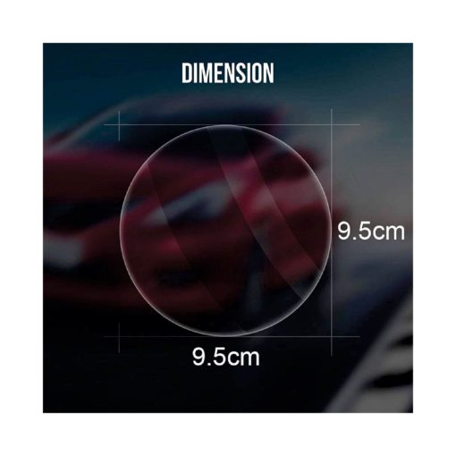 CarEmpire Anti-Fog Protective Film For Car Rear View Mirror And Side Window Glass (Transparent)