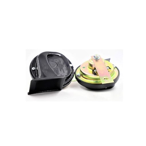 Roots Car Wind Tone Skoda Type Horn for Volkswagen Polo-Set of 2