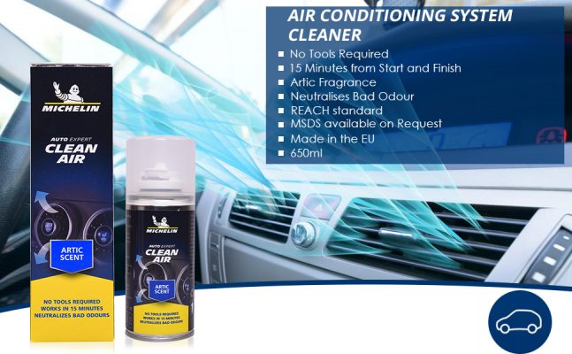 Features of Michelin Clean Air System