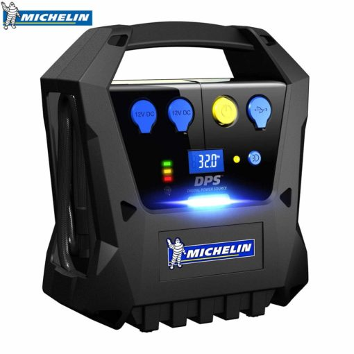 MICHELIN CORDLESS RECHARGEABLE CAR TYRE INFLATOR (BLACK) – 12267