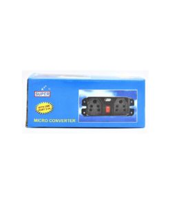 Dual Socket Micro DC to AC Converter with 3.4A USB port for all types of Vehicle - 1638