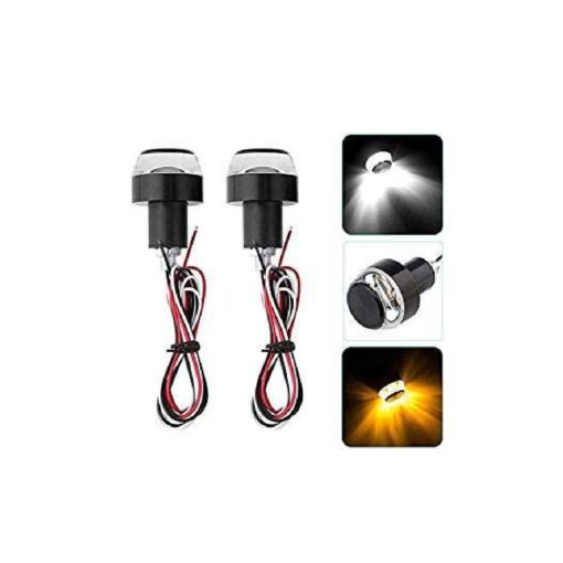 Super HQ Handle Bar Universal LED Light with Fancy Dual Color White and Yellow