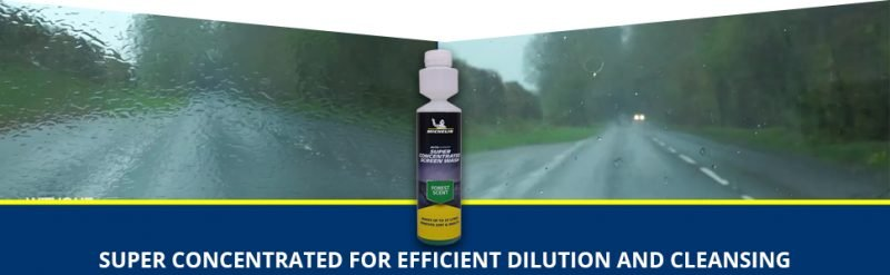 Michelin Windscreen Wash - Super Concentrated for Dilution and Cleansing