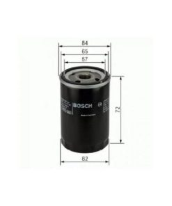 Bosch Oil Filter For -Tata Indica/Ace - F002H20264-8F8