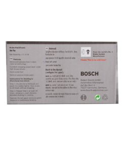 Bosch F002H600408F8 All Weather Performance Front Brake Pad for GM Tavera
