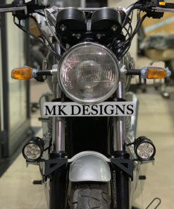 Auxiliary Mount for Royal Enfield Interceptor 650 & Continental GT 650